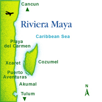 Riviera Maya offers a unique and different experience. With its wide expanse of beaches and proximity to Mayan cultural sites, it is the old world meeting the new. Thousand-year old ruins lie within sight of luxurious mega-resorts offering every amenity imaginable.