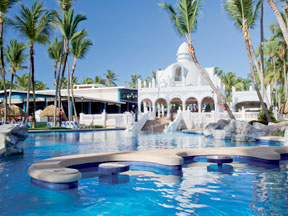 Last minute Riu Bambu Punta Cana air and hotel vacation packages