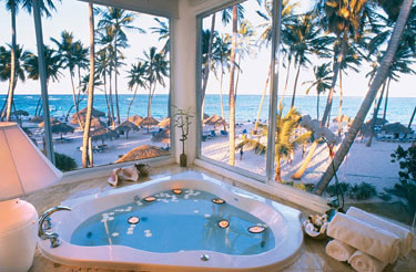 Last minute Barcelo Dominican Beach Punta Cana air and hotel vacation packages